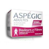 Aspegic Adultes 1000 Mg, Poudre Pour Solution Buvable En Sachet-dose 20 à Le Teich