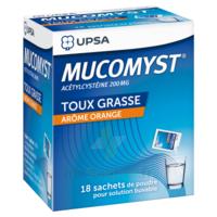 Mucomyst 200 Mg Poudre Pour Solution Buvable En Sachet B/18 à Le Teich