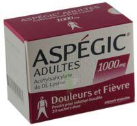 Aspegic Adultes 1000 Mg, Poudre Pour Solution Buvable En Sachet-dose 15 à Le Teich