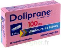 Doliprane 100 Mg Suppositoires Sécables 2plq/5 (10) à Le Teich