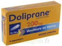 Doliprane 200 Mg Suppositoires 2plq/5 (10) à Le Teich