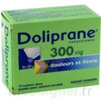 Doliprane 300 Mg Poudre Pour Solution Buvable En Sachet-dose B/12 à Le Teich