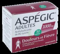 Aspegic Adultes 1000 Mg, Poudre Pour Solution Buvable En Sachet-dose 30 à Le Teich