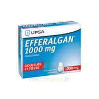 Efferalgan 1000 Mg Comprimés Pelliculés Plq/8 à Le Teich