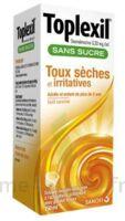 Toplexil 0,33 Mg/ml Sans Sucre Solution Buvable 150ml à Le Teich
