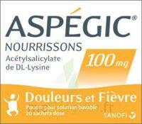 Aspegic Nourrissons 100 Mg, Poudre Pour Solution Buvable En Sachet-dose à Le Teich