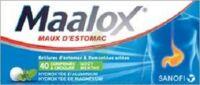 Maalox Hydroxyde D'aluminium/hydroxyde De Magnesium 400 Mg/400 Mg Cpr à Croquer Maux D'estomac Plq/40 à Le Teich