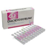 Dacryoserum Solution Pour Lavage Ophtalmique En Récipient Unidose 20unidoses/5ml à Le Teich