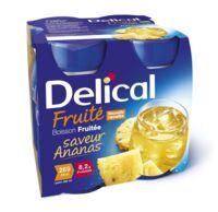 Delical Boisson Fruitee Nutriment Ananas 4bouteilles/200ml à Le Teich