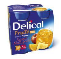Delical Boisson Fruitee Nutriment Multi Fruits 4bouteilles/200ml à Le Teich