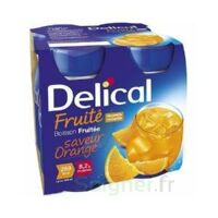 Delical Boisson Fruitee Nutriment Orange 4bouteilles/200ml à Le Teich