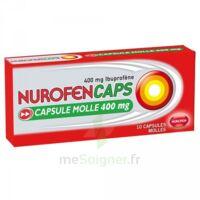 Nurofencaps 400 Mg Caps Molle Plq/10 à Le Teich