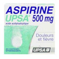 Aspirine Upsa 500 Mg, Comprimé Effervescent à Le Teich