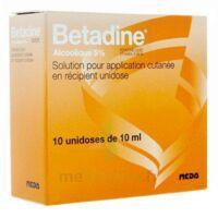 Betadine Alcoolique 5 % S Appl Cut En Récipient Unidose B/10 à Le Teich