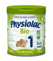 Physiolac Lait Bio 1er Age à Le Teich