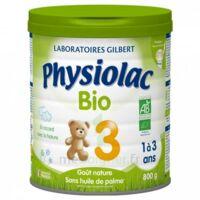 Physiolac Lait Bio 3eme Age 900g à Le Teich
