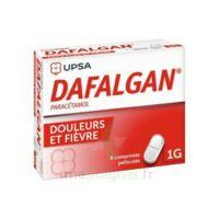 Dafalgan 1000 Mg Comprimés Pelliculés Plq/8 à Le Teich