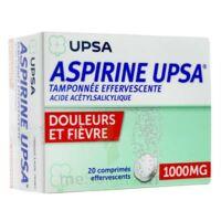 Aspirine Upsa Tamponnee Effervescente 1000 Mg, Comprimé Effervescent à Le Teich