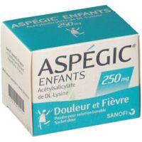 Aspegic Enfants 250, Poudre Pour Solution Buvable En Sachet-dose à Le Teich