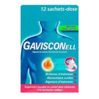 Gavisconell Suspension Buvable Sachet-dose Menthe Sans Sucre 12sach/10ml à Le Teich