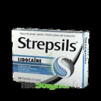 Strepsils Lidocaïne Pastilles Plq/24 à Le Teich