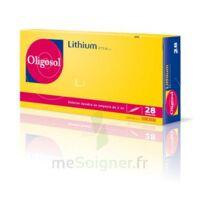 Oligosol Lithium Solution Buvable En Ampoule Ou En Récipient Unidose 28amp/2ml à Le Teich
