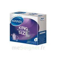 Manix King Size Préservatif Avec Réservoir Lubrifié Confort B/3 à Le Teich