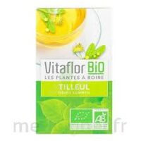 Vitaflor - Bio Tisane Tilleul 18 Sachets à Le Teich