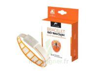 Pharmavoyage Bracelet Répulsif Origine Végétale Anti-moustique Orange à Le Teich