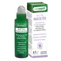 Olioseptil Huile Essentielle Maux De Tête Roll-on/5ml à Le Teich