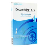 Desomedine 0,1 % Collyre Sol 10fl/0,6ml à Le Teich