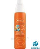 Avène Eau Thermale Solaire Spray Enfant 50+ 200ml à Le Teich