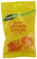 Pimelia Bonbons Sans Sucre Délice Orange Citron Sachet/100g à Le Teich