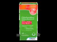 Chlorhexidine/chlorobutanol Mylan 0,5 Ml/0,5 G Pour 100 Ml, Solution Pour Bain De Bouche En Flacon à Le Teich