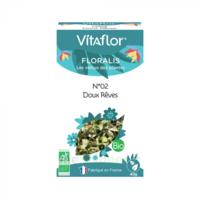 Vitaflor N°2 Doux Rêves Bio _ Floralis Plantes En Vrac Composées _ 40g à Le Teich