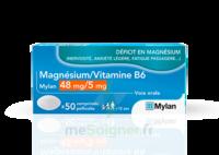 Magnesium/vitamine B6 Mylan 48 Mg/5 Mg, Comprimé Pelliculé à Le Teich