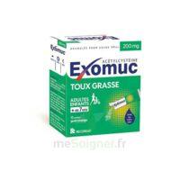 Exomuc 200 Mg, Granulés Pour Usage Oral En Sachet 15 Sachets/2g à Le Teich