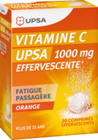 Vitamine C Upsa Effervescente 1000 Mg, Comprimé Effervescent à Le Teich
